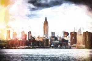 Manhattan Skyline by Philippe Hugonnard