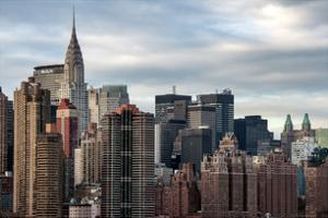 Manhattan View and the Chrysler Building by Philippe Hugonnard