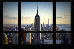 Manhattan View from the Window by Philippe Hugonnard