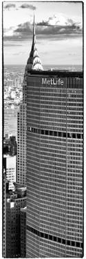 Metlife Building and Tof of Chrysler Building, Manhattan, New York City by Philippe Hugonnard