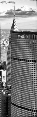 Metlife Building and Tof of Chrysler Building, Manhattan, New York City
