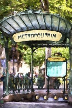 Metropolitain Abbesses Montmartre by Philippe Hugonnard
