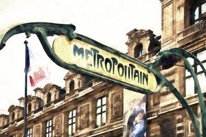 Metropolitain Louvre by Philippe Hugonnard