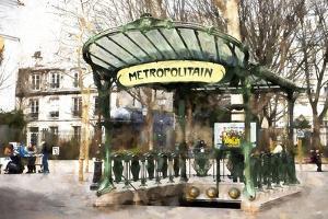 Metropolitain Montmartre by Philippe Hugonnard