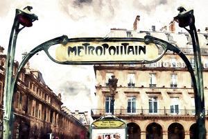 Metropolitain Palais Royal by Philippe Hugonnard