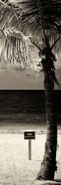 Miami Sign on the Beach - Florida by Philippe Hugonnard