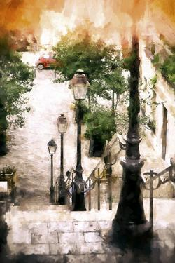 Montmartre Stairway II by Philippe Hugonnard