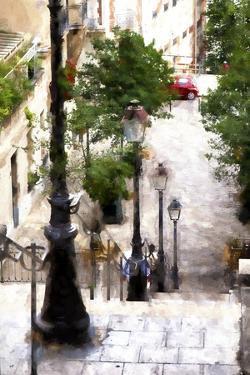 Montmartre Stairway by Philippe Hugonnard