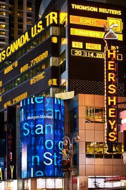 Nasdaq Marketsite - Times Square - Manhattan - New York City - United States by Philippe Hugonnard
