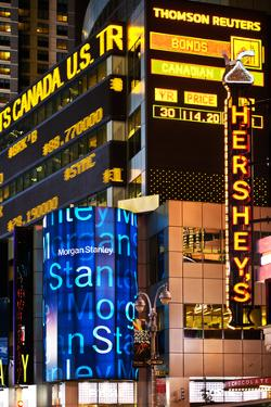 Nasdaq Marketsite - Times Square - Manhattan - New York City - United States by Philippe Hugonnard