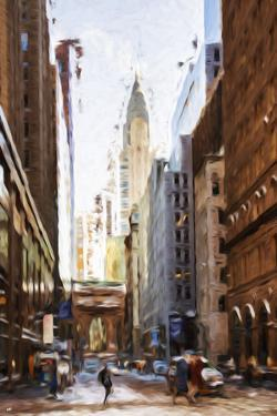 New York Architecture IV - In the Style of Oil Painting by Philippe Hugonnard