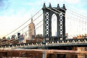 New York City Bridge by Philippe Hugonnard