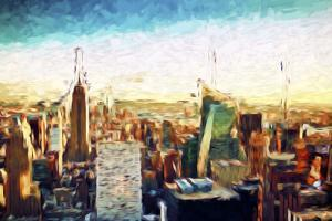 New York City IV - In the Style of Oil Painting by Philippe Hugonnard
