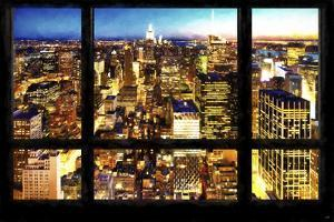 New York City View from the Window by Philippe Hugonnard
