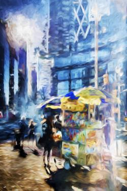 New York Life II - In the Style of Oil Painting by Philippe Hugonnard
