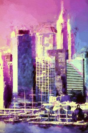 New York Pink by Philippe Hugonnard