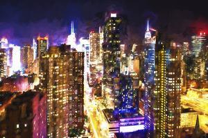 New York Skyline by Philippe Hugonnard