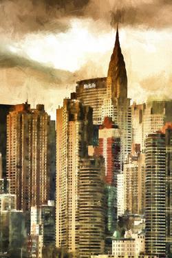 New York Skyscrapers II by Philippe Hugonnard