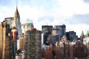 New York Skyscrapers III by Philippe Hugonnard