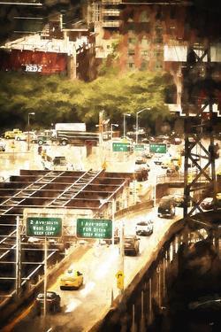 New York Traffic by Philippe Hugonnard