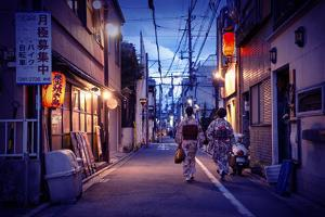 NightLife Japan Collection - Back from work by Philippe Hugonnard