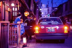 NightLife Japan Collection - Geisha Taxi by Philippe Hugonnard