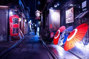 NightLife Japan Collection - Japanese Parasols by Philippe Hugonnard