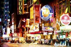NY Night Life by Philippe Hugonnard