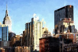 NYC Midtown Cityscape by Philippe Hugonnard
