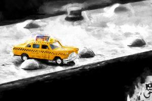 NYC Taxi Bridge by Philippe Hugonnard