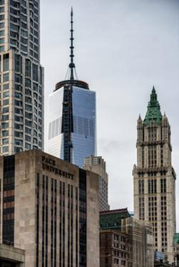 NYC University Campus and One World Trade Center (1WTC) by Philippe Hugonnard