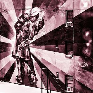 NYC Urban Street Art in Manhattan, in Winter by Philippe Hugonnard