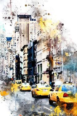 NYC Watercolor Collection - 401 Broadway by Philippe Hugonnard