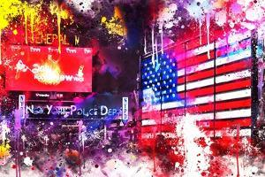 NYC Watercolor Collection - American Colors by Philippe Hugonnard