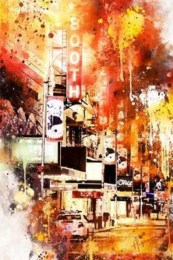 NYC Watercolor Collection - Booth by Philippe Hugonnard