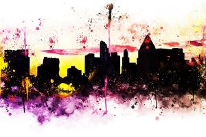 NYC Watercolor Collection - Colors Sunrise by Philippe Hugonnard