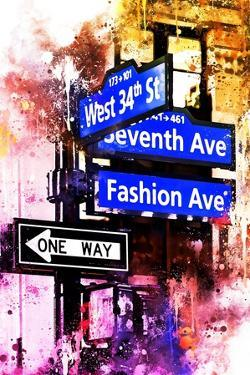 NYC Watercolor Collection - Directions by Philippe Hugonnard