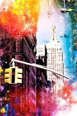 NYC Watercolor Collection - Empire by Philippe Hugonnard