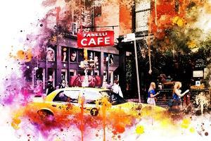 NYC Watercolor Collection - In Soho by Philippe Hugonnard