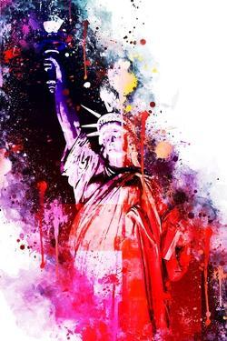 NYC Watercolor Collection - Liberty Colors by Philippe Hugonnard