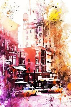NYC Watercolor Collection - New York Architecture by Philippe Hugonnard