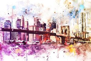 NYC Watercolor Collection - New York Dreams by Philippe Hugonnard