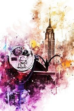 NYC Watercolor Collection - Observation by Philippe Hugonnard