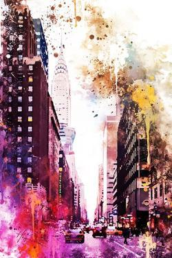 NYC Watercolor Collection - Perspective by Philippe Hugonnard