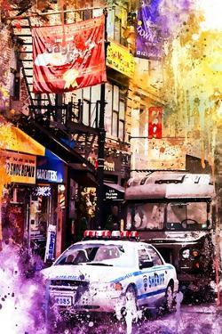 NYC Watercolor Collection - Sheriff by Philippe Hugonnard