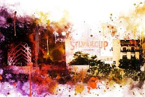 NYC Watercolor Collection - Silvercup Studios by Philippe Hugonnard