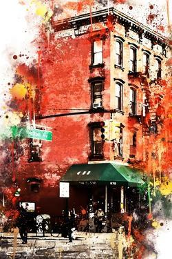 NYC Watercolor Collection - Street angle by Philippe Hugonnard