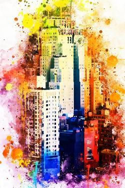NYC Watercolor Collection - The New Yorker by Philippe Hugonnard