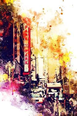 NYC Watercolor Collection - Urban Atmosphere by Philippe Hugonnard