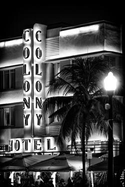 Ocean Drive with the Colony Hotel by Night - Miami Beach - Florida - USA by Philippe Hugonnard